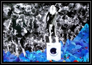 Paysage mental bleu